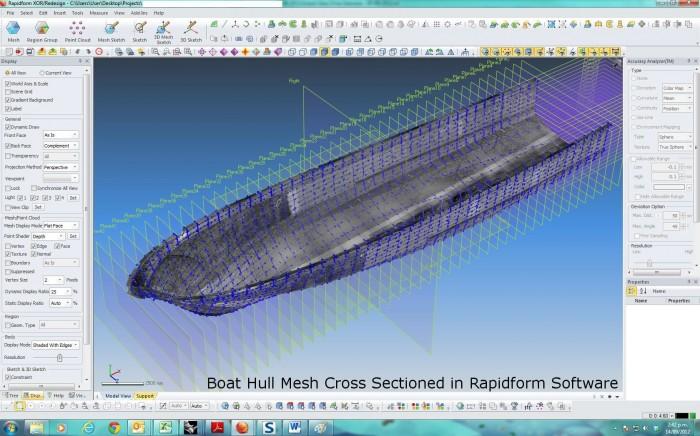 Marine CAD design